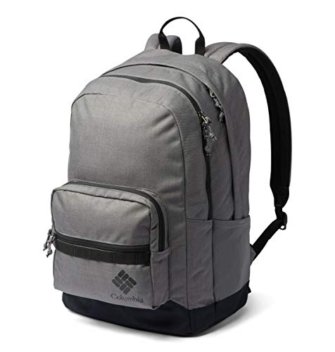 Columbia Unisex Zigzag 30l Backpack, City Grey Heather/Black, One Size