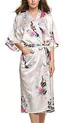 日本の着物っぽいバスローブ