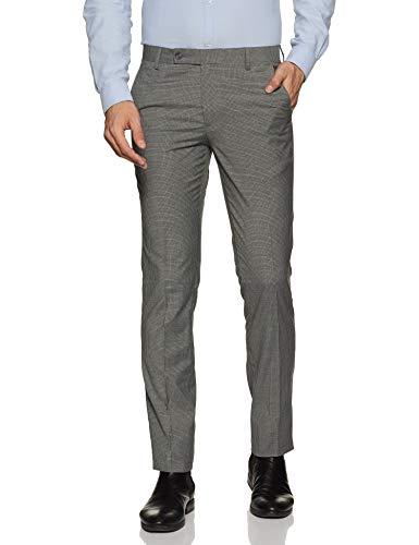 John Miller Men's Trousers (PJNML-TRO-001850832_Lt.Grey_32)