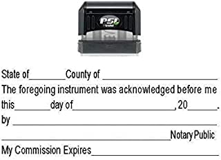 Notary ACKNOWLEDGEMENT