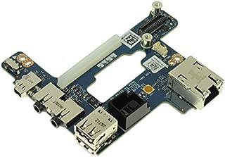 FNW4D - Dell Latitude E6510/ Precision M4500 Audio Ports / USB / RJ-45 / Power Button IO Circuit Board - FNW4D