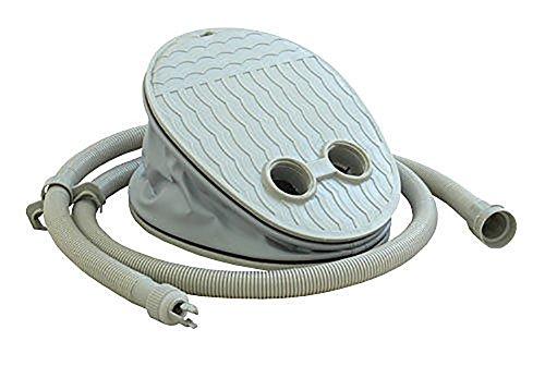 Prowake Fußpumpe für Schlauchboote, Luftpumpe, Fußpumpe