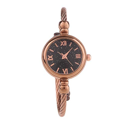 JZDH Relojes De Las Mujeres Departamento Femenina Pequeños Reloj Fresco Señoras del Reloj Femenino De Los Estudios Pulsera Simple Tendencia Pulsera Decoración del Reloj Señora Reloj