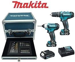 Kit Makita CLX228SAX2 taladro atornillador masa percutor + 3 baterías 12 V 2,0 Ah