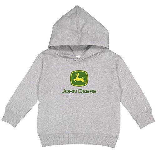 John Deere Youth Boy Logo Hooded Sweatshirt-Oxford
