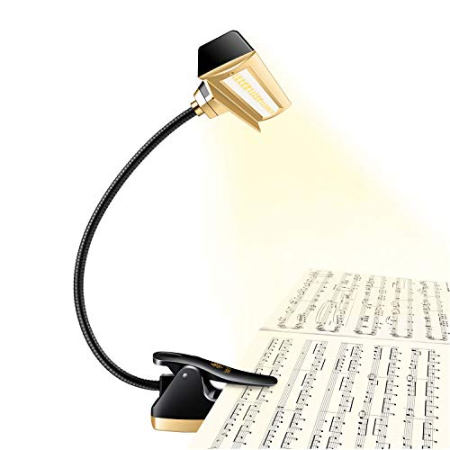 Royal Super Bright 29 LED Music Stand Light, Clip On Orchestra Piano Lights, Infinite Levels Dimmable, Vertisile, Super Bright. Great for Piano, Orchestra, DJ& Craft. USB Cord& Carry Bag Incl.
