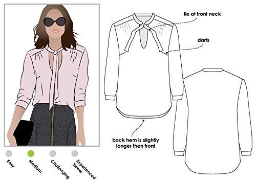 ARC Style Naaipatroon - Holly Woven Blouse