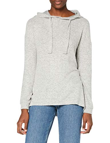 Marca Amazon - find. Capucha Mujer, Gris (Grey), 40, Label: M