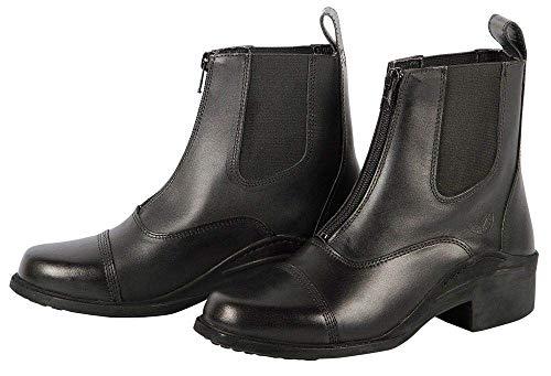 Harry's Horse Jodhpurstiefel Leder Zipper Botas de Equitación, Mujer, Marrón, 39 EU
