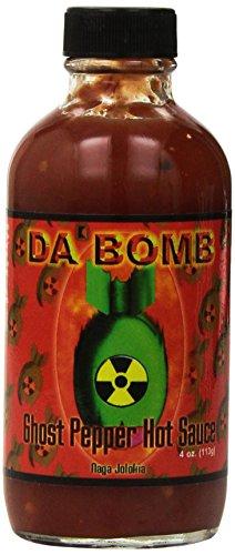 Da` Bomb Ghost Pepper Hot Sauce