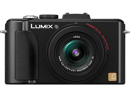 Panasonic Lumix DMC-LX5 10.1 MP Digital Camera with 3.8x Optical Image Stabilized Zoom and...