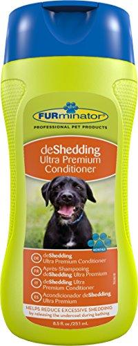 FURminator Fellpflege deShedding Anti-Haaren Ultra Premium-Conditioner für Hunde und Katzen, reduziert das Haaren, 1 Flasche (1 x 250 ml)