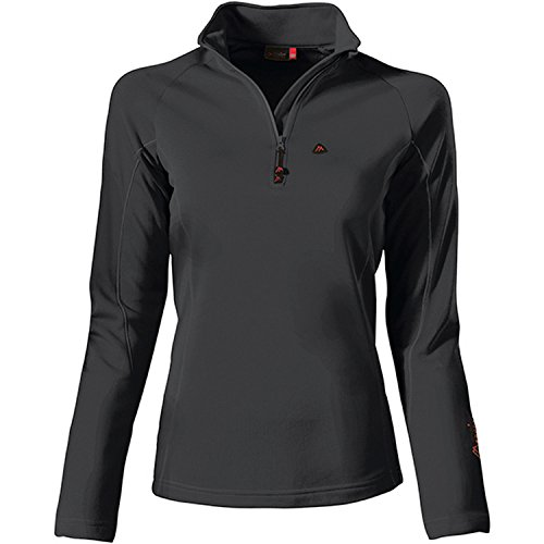 Maier Sports Damen Eva Midlayer, Black, 40