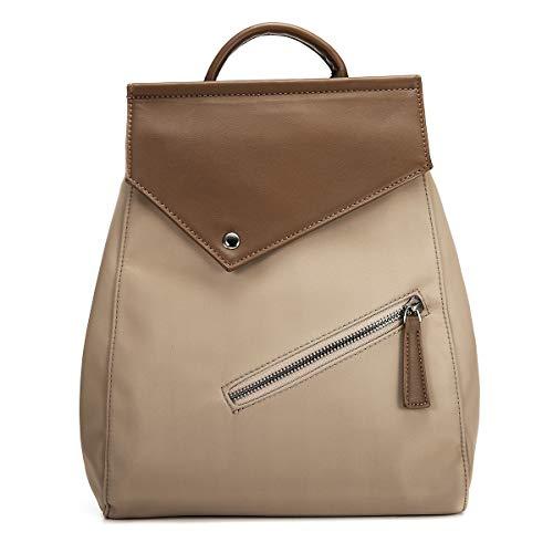 JOSEKO Rucksäcke Damen, Mode Rucksack Oxford Schultasche Damen Handtasche Leichter Daypack Diebstahlsichere Taschen Frauen Umhängetasche (Khaki#03)