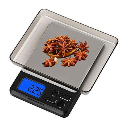 Zorara Balance de Cuisine Électronique, 5kg/1g Balance numérique de Cuisine de Haute Précision,...