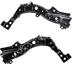 Radiator Support Set of 2 for G35 07-08 / G37 08-13 Right and Left Side Coupe/Sedan