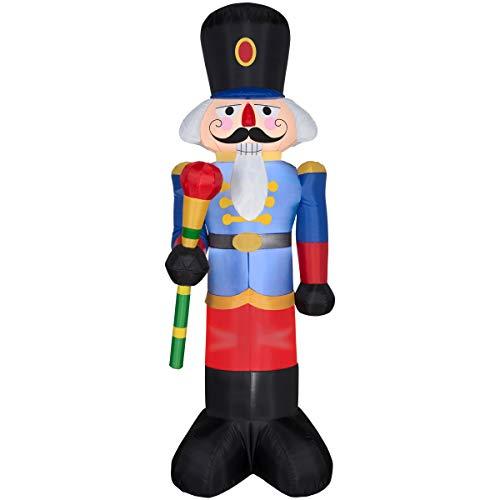 Gemmy Christmas Inflatable 6 1/2' Nutcracker Yard Prop Decoration