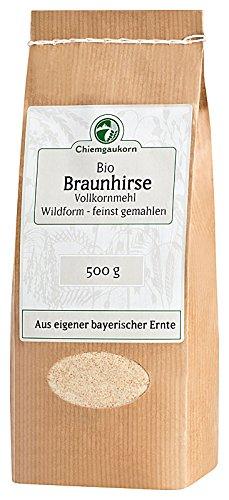 Chiemgaukorn Bio Braunhirsemehl Vollkorn 500 g