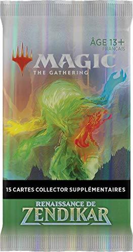 Magic: The Gathering- Booster coleccionista Renaissance de Zendikar (15 Tarjetas Especiales)