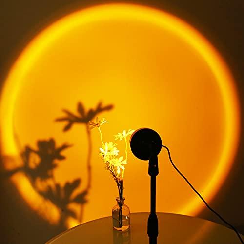 Sunset Projection Lampe de projection Sunset Lampe LED USB Projecteur Lampe Lampe de projection Lampe d'ambiance...