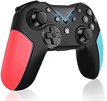 Controlador Inalámbrico para Nintendo Switch, Switch Console Controlador Bluetooth con Turbo, Eje de Giroscopio y...