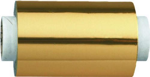 Fripac-Medis Papel de aluminio, 12 cm x 150 m, color oro