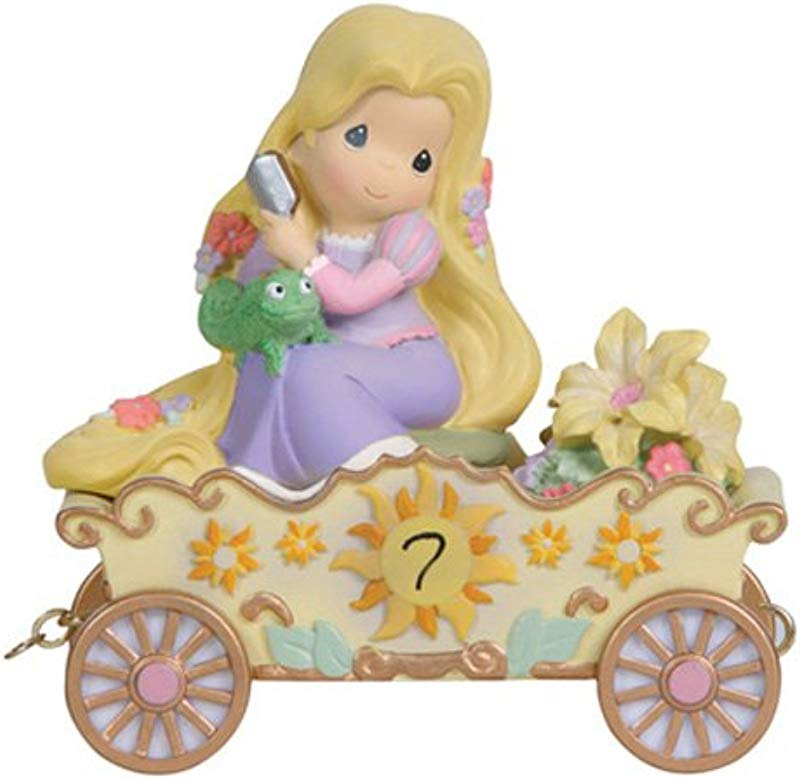 Precious Moments Disney Showcase Collection I M In Heaven To Be Seven Disney Birthday Parade Age 7 Resin Figurine 114424