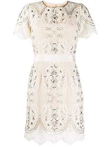 Luxury Fashion | Twin-set Dames 201TP246200018 Wit Viscose Jurken | Lente-zomer 20