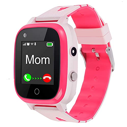 4G Kids Smart Watch,Kids Phone Smartwatch GPS Tracker,Call,Alarm,Pedometer,Camera,SOS,Touch Screen WiFi Bluetooth Wrist Watch Boys Girsl iPhone iOS Android, 3-12 Years Old Children Student Gifts