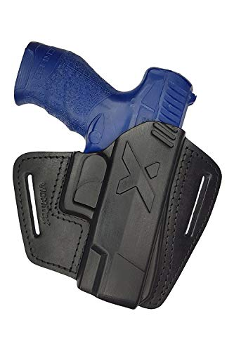 VlaMiTex U16 Leather Quick-Draw Holster Fits Walther Creed...