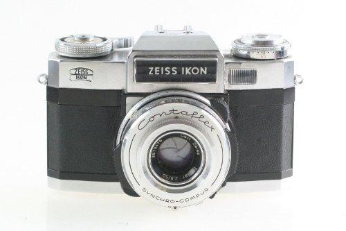 Zeiss Ikon Contaflex Spiegelreflexkamera SLR Kamera mit Tessar 2.8 50mm 50 mm Optik