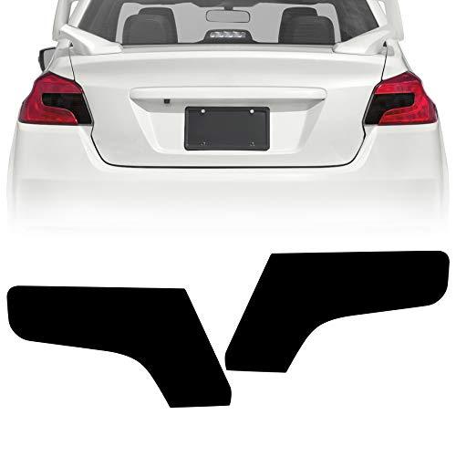 NDRUSH Blackout Taillight Vinyl Tint Film, Precut Overlays,Tail Light Wrap Cover Compatible with 2015-2020 Subaru WRX/STI