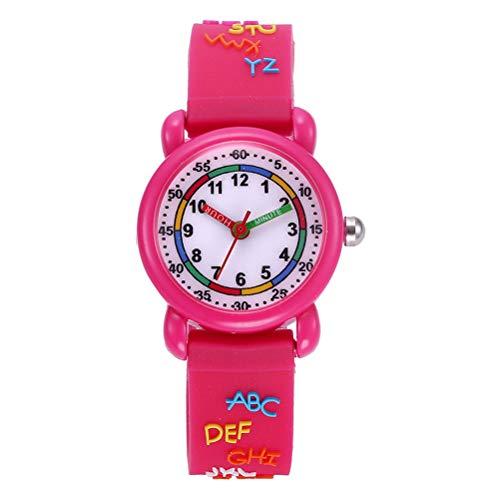 ibasenice Kids Watches - Lovely 3D Cartoon Watch Delicate Waterproof Quartz Wristwatch for Children Kids