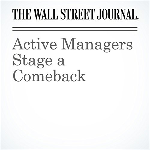 Active Managers Stage a Comeback copertina