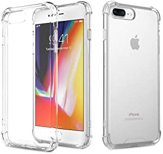 Apple iPhone 8 Plus Crystal Clear ANTI SHOCK BACKCOVER Soft TPU - Clear