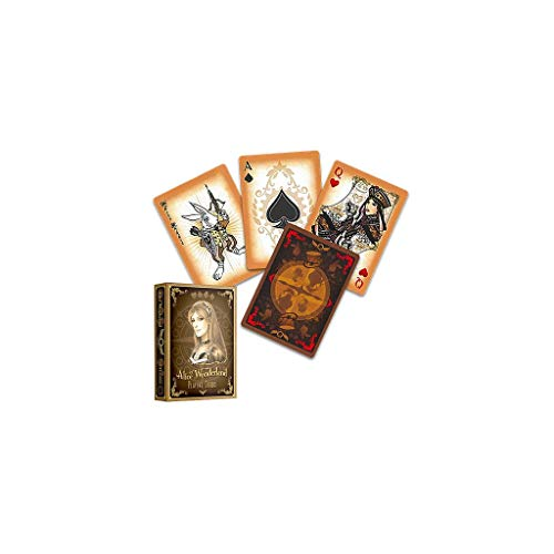Alice of Wonderland Playing Cards - Gold Edition by Sketch2Draw