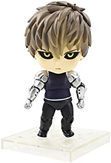 Allegro Huyer 10cm one Punch Man genos Super Movable Edition nendoroid 645 PVC Figure Model Collection Doll Kids Gift (OPP Bag)
