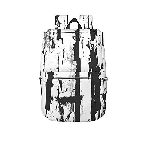 MTSKE Outdoor Freizeit Sport Gym Rucksack mit großer Kapazität,Distressed Overlay Holzzaun Textur Grunge Vektor Hintergrund,Unisex Schultasche für...
