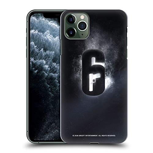 Head Case Designs Officially Licensed Tom Clancy's Rainbow Six Siege Glow Logos Hard Back Case Compatible with Apple iPhone 11 Pro Max