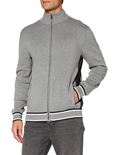 Esprit Herren 090EE2I310 Pullover, Medium Grey (039)
