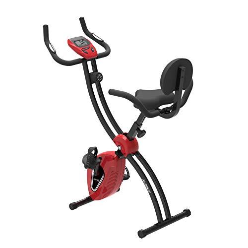 Murtisol S-Bike Entraîneur de Vélo Pliable avec Grand Siège Capteurs Cardiaques,avec...