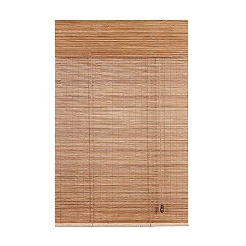 CHAXIA Enrouleurs Store en Bambou Balcon Lumière De Couverture Salon Couper Écran Levage Volet Roulant, 2 Styles, Multi-Taille, Personnalisable (Couleur : B, Taille : 100x160cm)