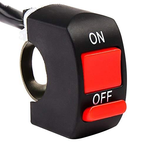 SHENLIJUAN Interruptor de Manillar de la Motocicleta Flameout En del botón for Y-a-m-a-h-a Gas Gas EC300 TC125 TE125 Gasgas EC 250 22mm