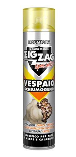Insetticida ad alta efficacia ZIGZAG Vespaio Schiumogeno Specialist 600 ml