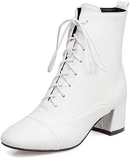 BalaMasa Womens ABS14018 Pu Boots