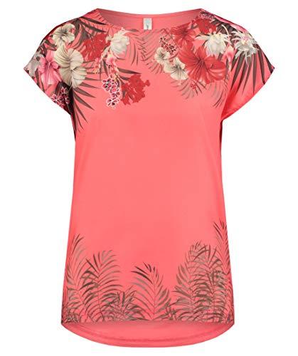 SOYACONCEPT Damen T-Shirt Sue Kurzarm Koralle (73) S