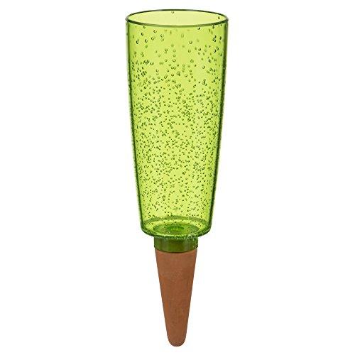 SCHEURICH Copa XXL, dispensador de Agua de plástico y Sonido Cono Plantas de Accesorio, Color Verde de Pearl, 13x 13x 37cm