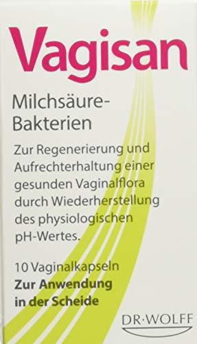 Vagisan Milchsäure-Bakterien Vaginalkapseln, 10 St