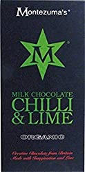 Organic Milk Chocolate With Chilli & Lime Bar - 100g x 12