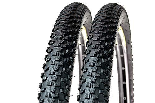 2 Stück 29 Zoll Fahrrad MTB Reifen 29x2.20 Tire Mantel Decke 56-622 schwarz
